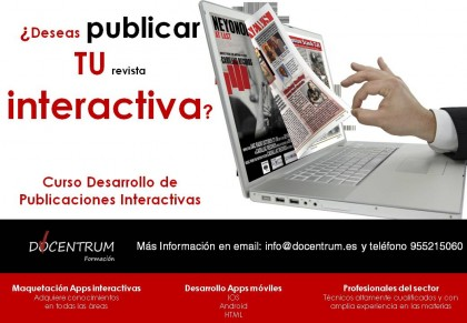 Desarrollo de publicaciones interactivas ! 2015-2016