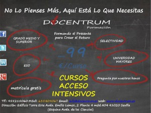 publicidad docentrum campaña fp y selectividad 2015